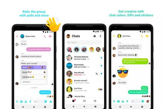 Facebook Messenger punya fitur kayak WhatsApp