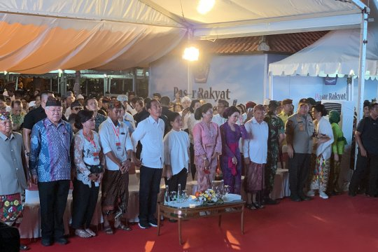 Jokowi : Mohon maaf kadang-kadang error soal nama tempat