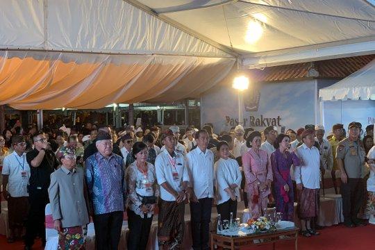 Jokowi berpesan jangan sampai ada yang golput di Bali