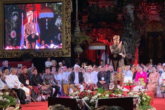 Jokowi sebut pemilu bukan perang tapi pesta demokrasi