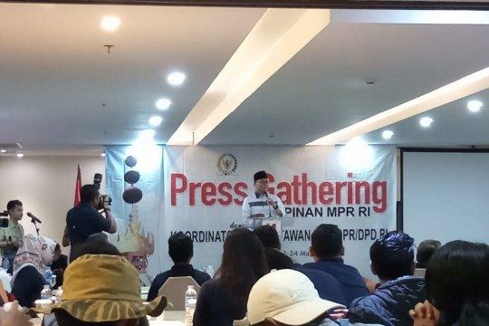 Ketua MPR: Pemilu damai kalau UUD dijalankan