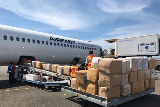 Komunitas Freeport serahkan tiga ton bantuan untuk warga Sentani