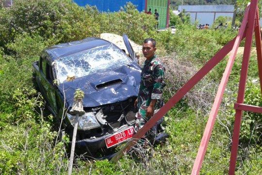 Mobil tabrak sepeda motor di Aceh Jaya, satu keluarga kritis