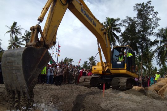 Penanganan abrasi Muara Kandis Pesisir Selatan telan Rp13,2 miliar