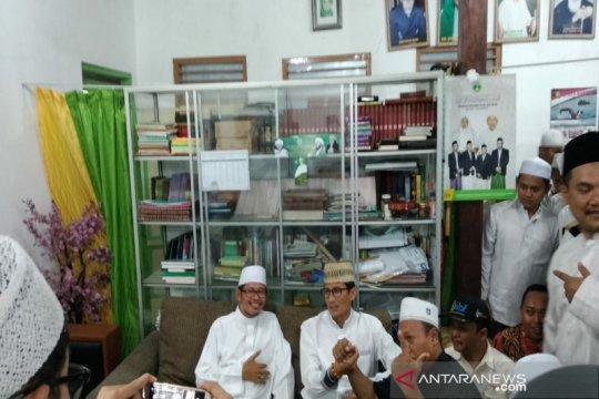 Cawapres Sandiaga Uno kunjungi Ponpes Nurul Haromain