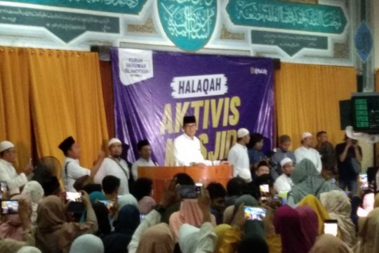Sandiaga ingin masjid jadi pusat penyebaran semangat kewirausahaan