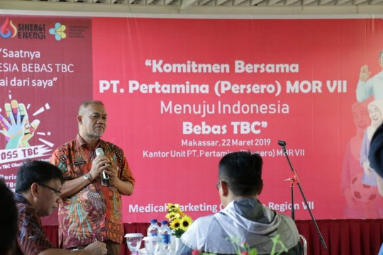 Pertamina MOR VII baksos dukung Indonesia bebas TBC