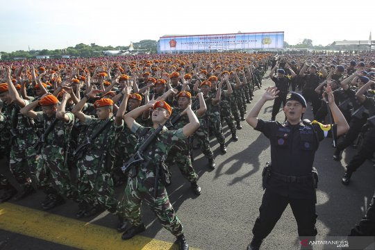 Kodam Sriwijaya siapkan 18.000 prajurit amankan Pemilu lima provinsi