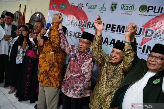 Deklarasi Pemilu damai ormas keagamaan