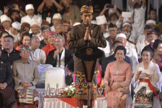 Presiden temui tokoh dan masyarakat Bali