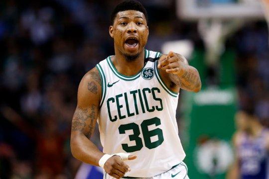 Guard Boston Celtics didenda Rp707 juta karena kasar