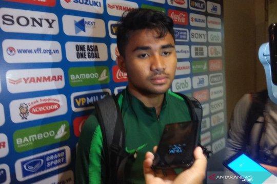 Asnawi Mangkualam apresiasi dukungan Ezra Walian untuk timnas U-23