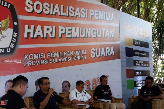 KPU Sulteng antisipasi potensi masalah penghitungan suara