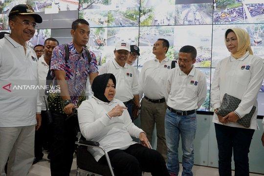 "Wali kota peserta Rakor Apeksi kagumi ""Command Center 112"" di Surabaya"