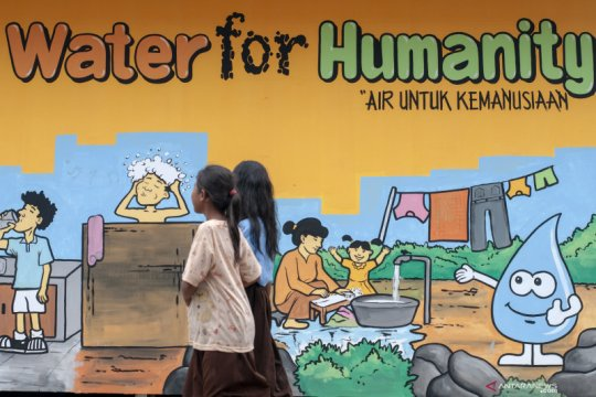 Hari Air Sedunia: Pandemi COVID-19 makin tunjukkan air bersih krusial