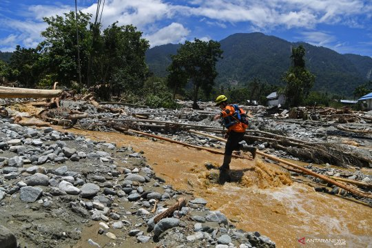 Seminggu pascabanjir bandang Sentani
