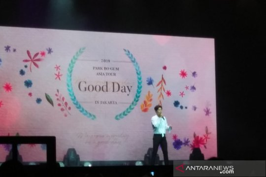 """Park Bo-gum bawakan lagu """"I Like You"""" di Indonesia"""