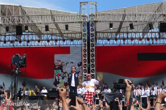 Jokowi targetkan kemenangan 70 persen di Yogyakarta
