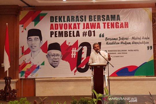 Advokat Jateng Pembela 01 siap beri dukungan advokasi