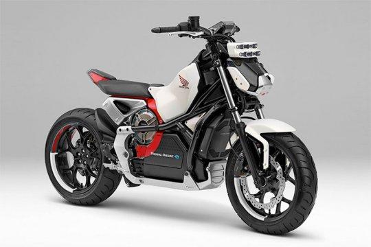 Motor listrik Honda ini berteknologi robot