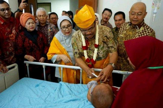 Pengobatan gratis operasi hernia di Sumut pecahkan rekor MURI
