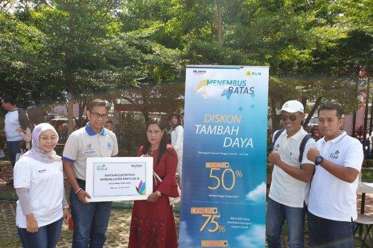 PLN sambung gratis listrik ke 200 rumah miskin di Makassar