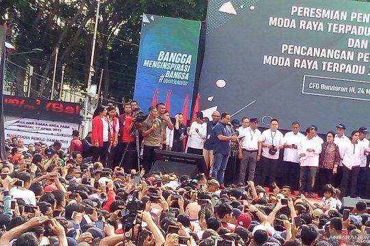 Anies ucapkan terima kasih kepada para gubernur Jakarta
