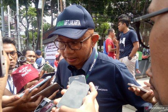 Anies mengucapkan terima kasih kepada para pekerja pembangunan MRT