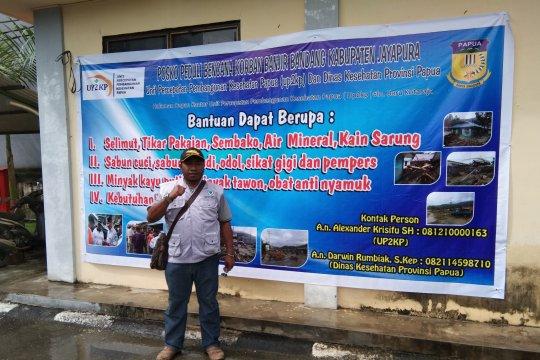 UP2KP buka posko perekrutan relawan kesehatan banjir Sentani