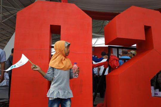Kampanye capres 02 di Makassar diduga libatkan anak-anak