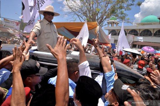 Kampanye terbuka perdana capres 02 Prabowo Subianto-Sandi