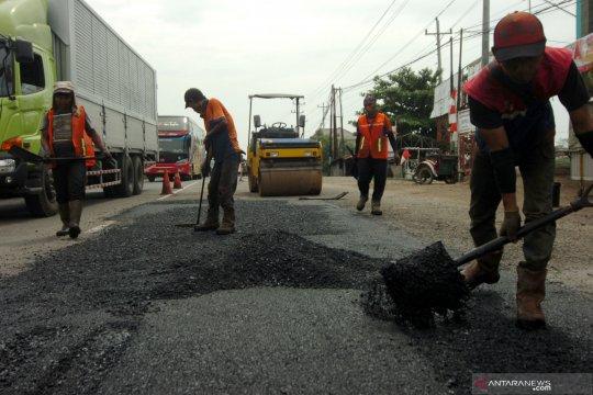 Perbaikan jalan rusak di Jateng ditarget selesai H-10 Lebaran