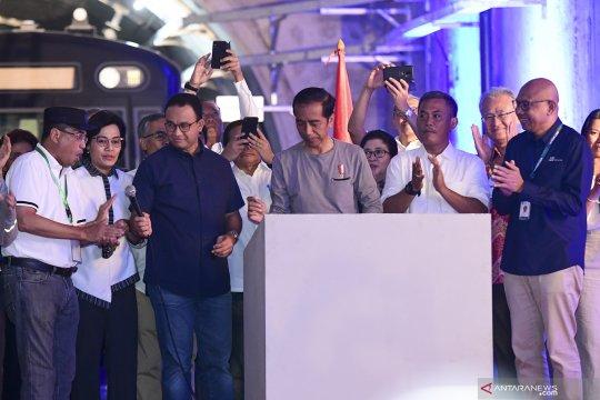 Sri Mulyani harapkan MRT jadi solusi kemacetan di Jakarta