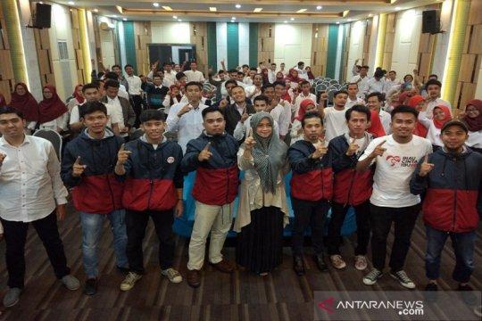 Ratusan Relawan Cinta Ibu deklarasi dukung Jokowi di Riau