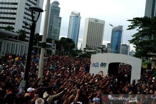 Masyarakat antusias sambut peresmian MRT
