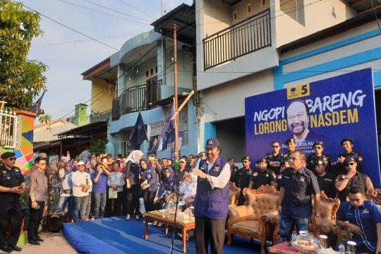 Surya Paloh deklarasikan 1.000 lorong NasDem
