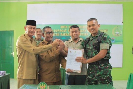 Percepatan pembangunan di Nagan Raya-Aceh didukung TNI-AD