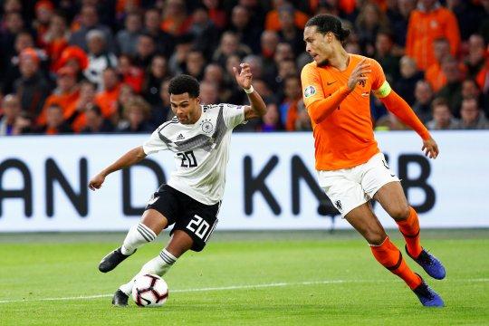 Jerman tekuk Belanda 3-2 di kualifikasi Piala Eropa 2020