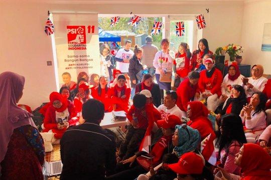 Pendukung Paslon 01 di UK gelar doa kedamaian bangsa