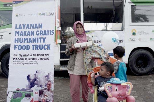 Global Zakat-ACT bagikan ribuan paket makanan kampung nelayan Semarang