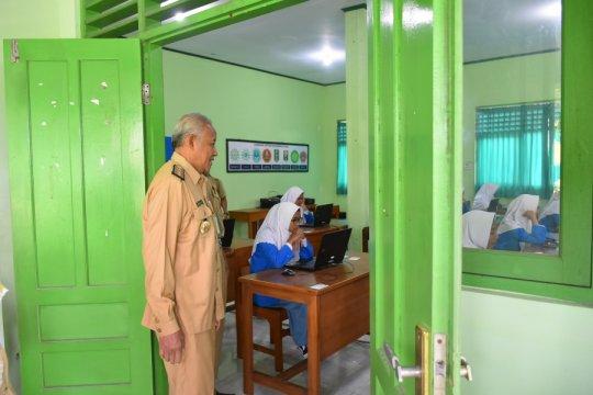 """Hari pertama UNBK SMK di Sleman diwarnai keterlambatan """"log in"""""""