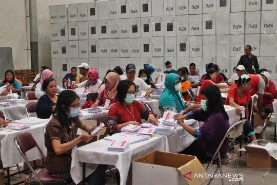 KPU Surakarta mulai pelipatan surat suara untuk pemilu legislatif