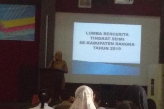 Lomba bercerita digagas untuk siswa SD dan MI di Bangka Belitung
