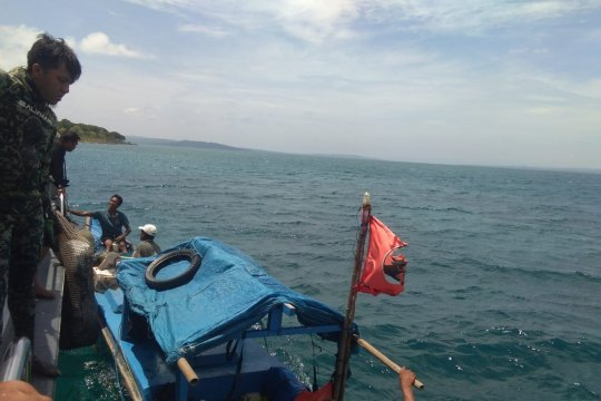 Tiga nelayan Kupang jadi tersangka pengeboman ikan