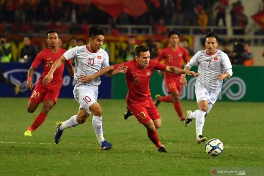 Vietnam juara Grup K,  Indonesia urutan ketiga