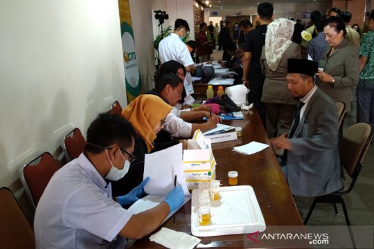 Anggota DPRD Jateng jalani tes narkoba