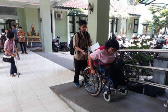 Sejumlah fasilitas disabilitas dinilai masih sulit diakses