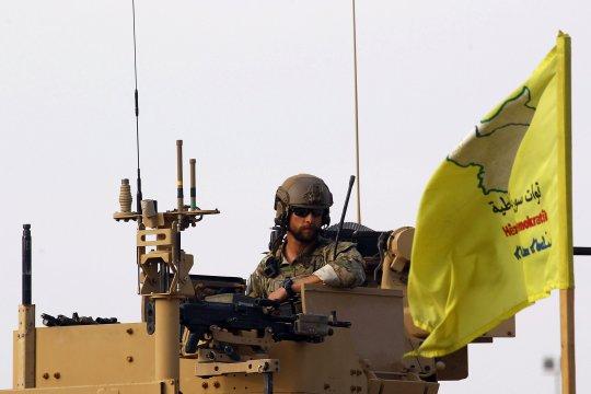 AS: Tak ada PKK/YPG di zona aman dengan Turki di perbatasan Suriah