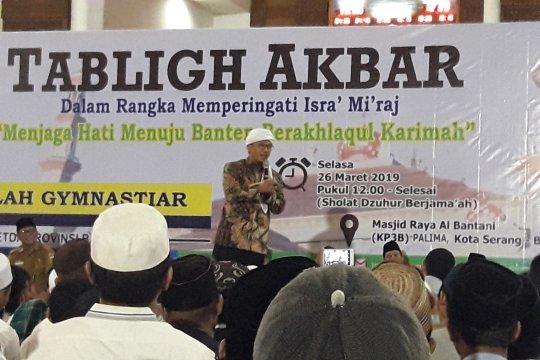 Jelang Pilpres, Aa Gym ajak umat Islam jaga persaudaraan