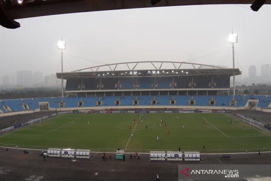 Tak ada riuh suporter Indonesia saat timnas U-23 hadapi Brunei